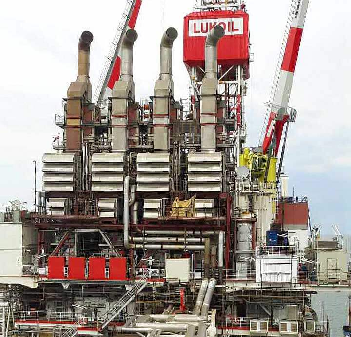 V.Filanovsky oilfield development IRP-1heating system recovery