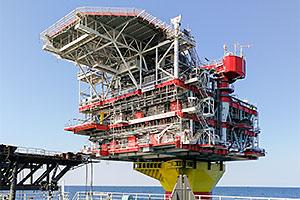 Wellhead platform: 2nd phase of Yu. Korchagin oilfield