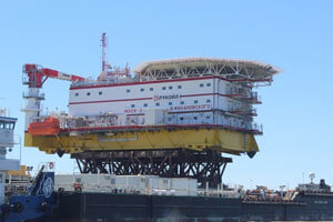 Living Quarters Platform-2 shipboard and energy facility commissioning