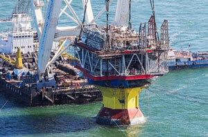 Riser Unit Platform of 1st phase of V.Filanovsky oilfield