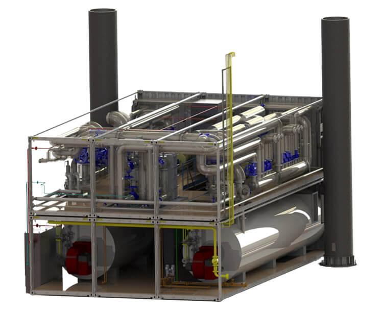 Upper structure of V. Filanovsky oilfield Ice Resistance Platform-2